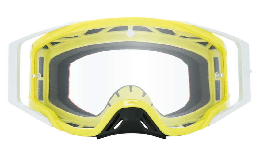 Foundation Mx Goggle - Checkers Hi-Vis Green/HD Clear