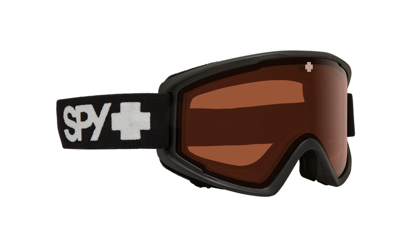 Crusher Jr Snow Goggle - Matte Black/Persimmon
