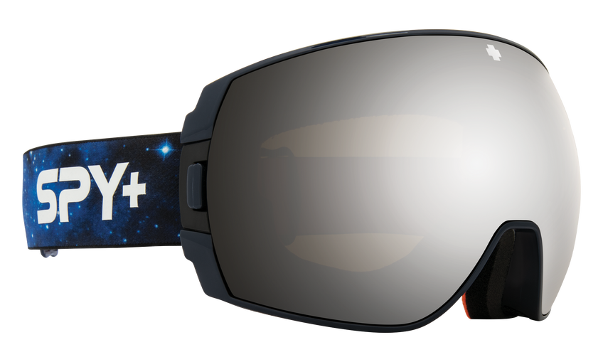 Legacy Snow Goggle - Galaxy Blue/HD Plus Bronze with Silver Spectra Mirror + HD Plus LL Persimmon with Silver Spectra Mirror