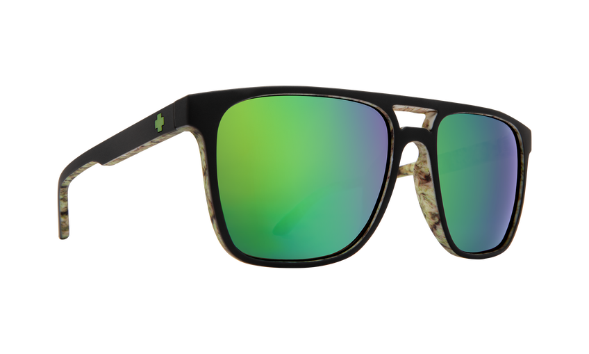 Czar - Matte Black/Kushwall/HD Plus Bronze w/ Green Spectra Mirror