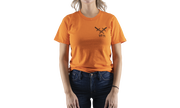 Trouble Ahead Tee, Orange, hi-res
