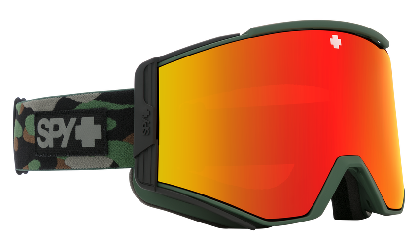Ace Camo - HD Plus Bronze w/ Red Spectra Mirror + HD Plus LL Yellow w/ Green Spectra Mirror