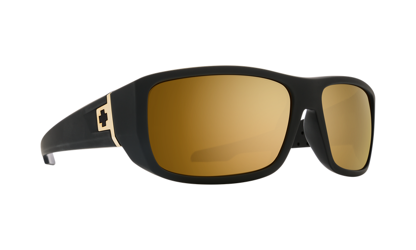 Mc3 25 Anniv Matte Black Gold-HD Plus Bronze with Gold Spectra Mirror