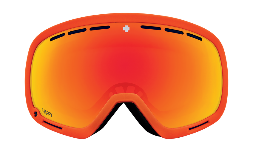 Marshall Snow Goggle - Viper Orange/Happy ML Rose with Red Spectra Mirror