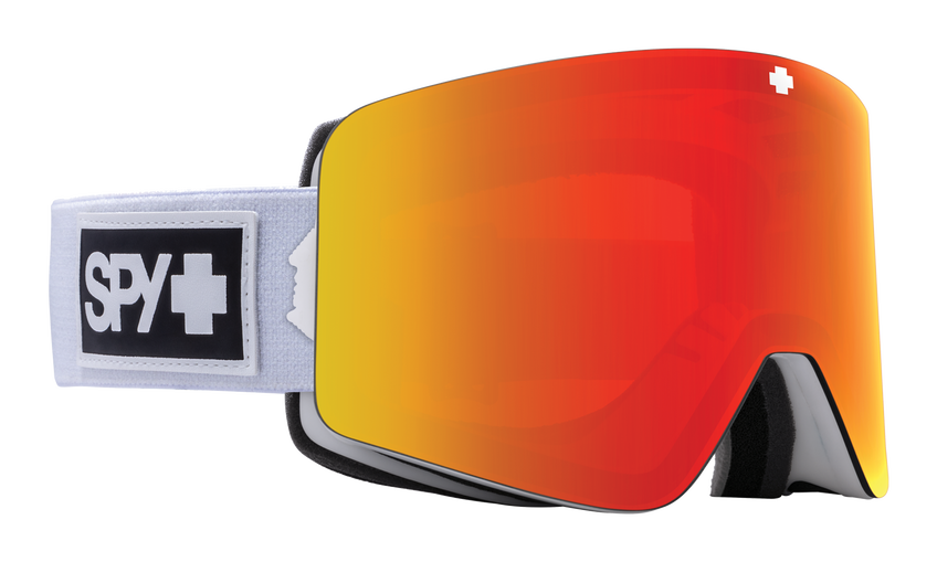Marauder Snow Goggle - Matte White/HD Plus Bronze with Red Spectra Mirror + HD Plus LL Yellow with Green Spectra Mirror