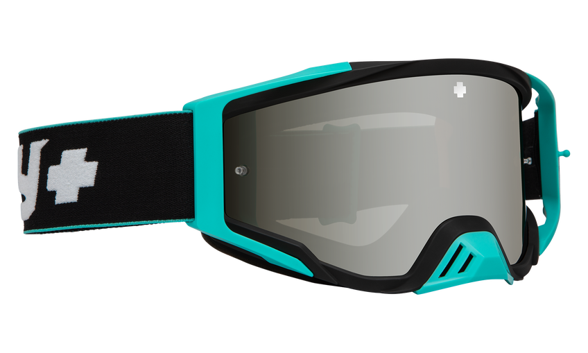 Foundation Mx Goggle - Camo Teal/Smoke w/ Silver Spectra HD+Clear HD AFP