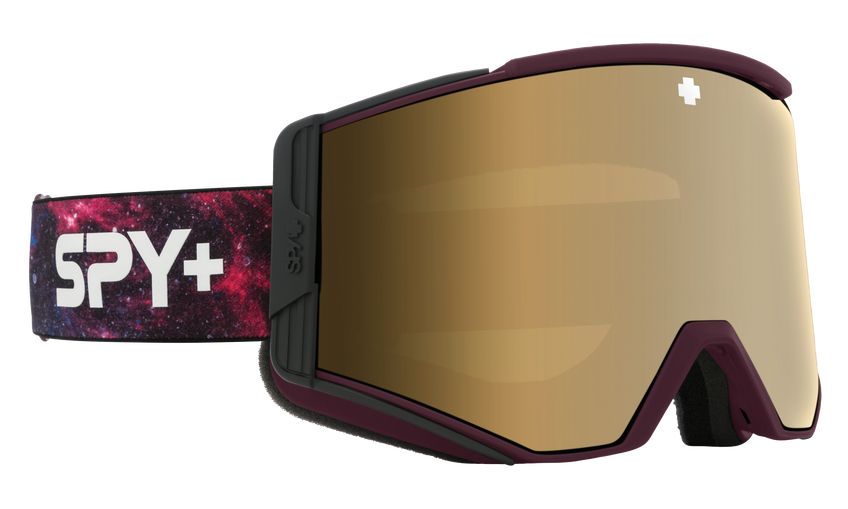 Ace Snow Goggle - Galaxy Purple/HD Plus Bronze with Gold Spectra Mirror + HD Plus LL Persimmon with Silver Spectra Mirror