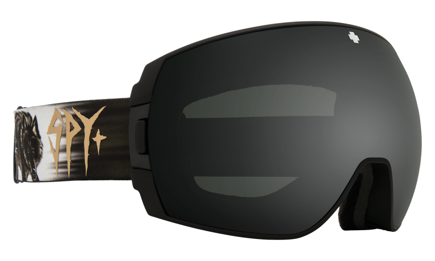 Legacy Snow Goggle - SPY + Damasso Sanchez/HD Plus Gray Green with Black Spectra Mirror + HD Plus LL Persimmon with Silver Spectra Mirror