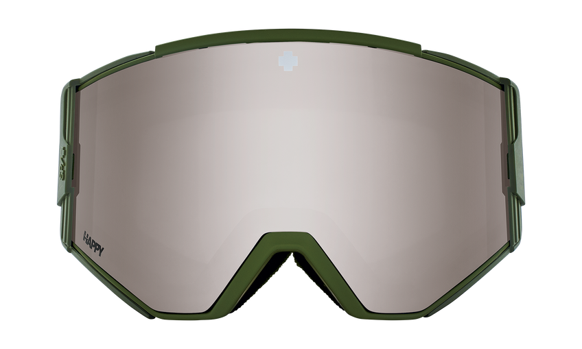 Ace Snow Goggle - Monochrome Olive/Happy Bronze with Silver Spectra Mirror