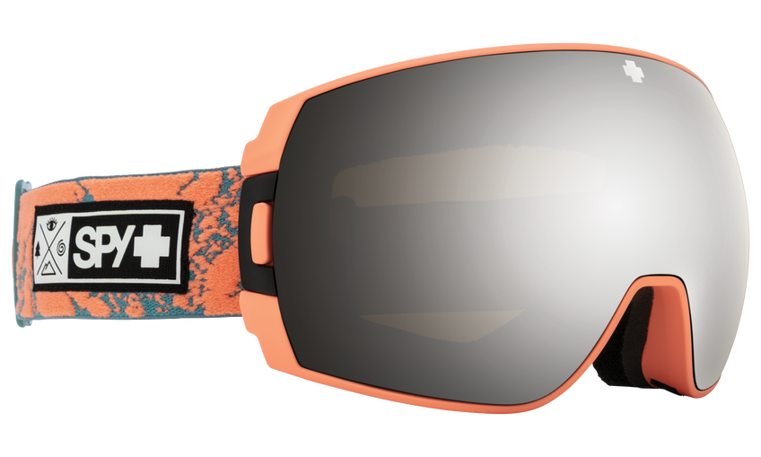 Legacy SE Snow Goggle - Coral Stone/HD Plus Bronze with Silver Spectra Mirror + HD Plus LL Yellow with Green Spectra Mirror