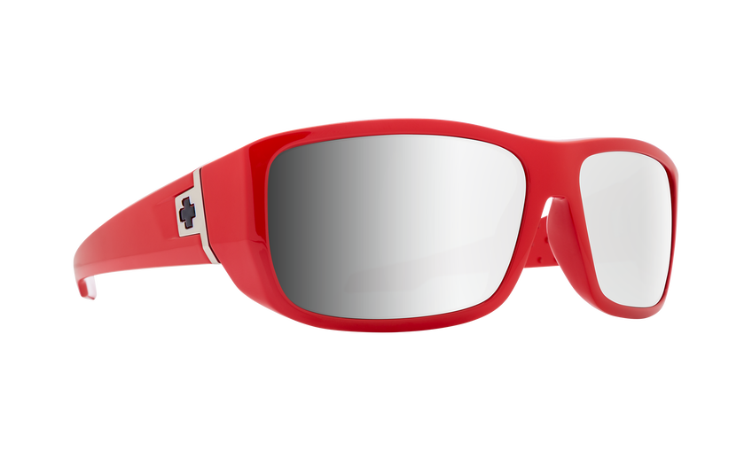 MC3 - Classic Red/HD Plus Gray Green with Silver Spectra Mirror