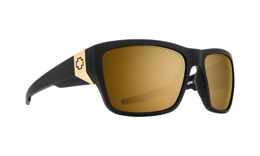 Dirty Mo 2 25 Anniv Matte Black Gold-HD Plus Bronze with Gold Spectra Mirror