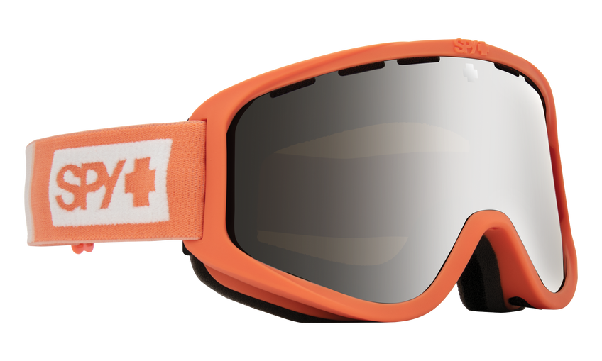 Woot Snow Goggle - Colorblock Coral/HD Bronze with Silver Spectra Mirror + HD LL Persimmon