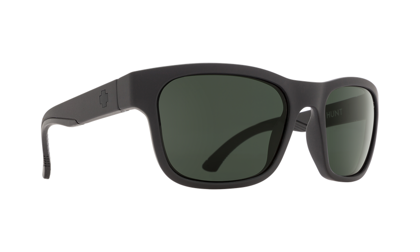 Hunt - SOSI Matte Black/HD Plus Gray Green