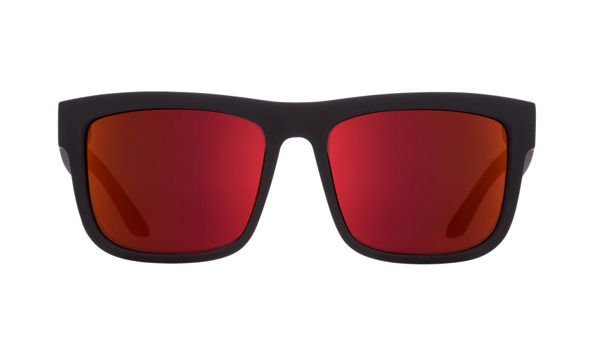 Discord - Soft Matte Black Red Fade/HD Plus Gray Green with Red Light Spectra Mirror