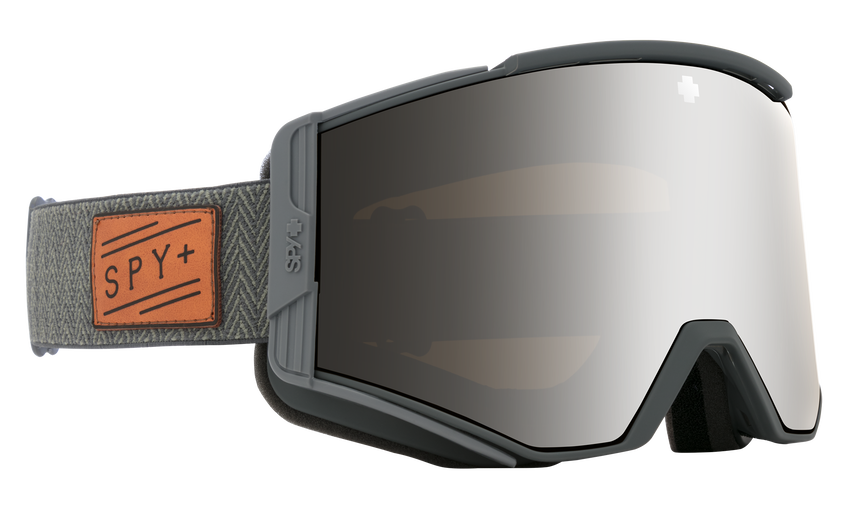 Ace Herringbone Gray - HD Plus Bronze w/ Silver Spectra Mirror + HD Plus LL Yellow w/ Green Spectra Mirror