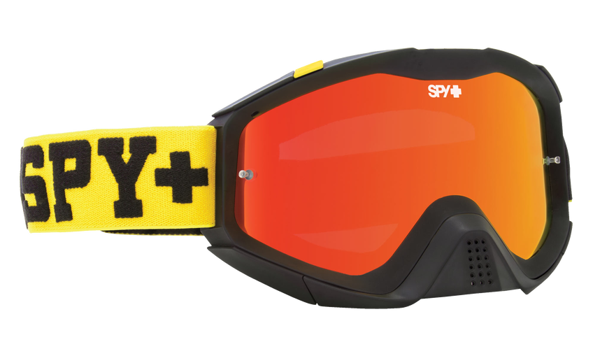 Klutch Mx Goggle - Jersey Yellow/Smoke with Red Spectra + Clear AFP