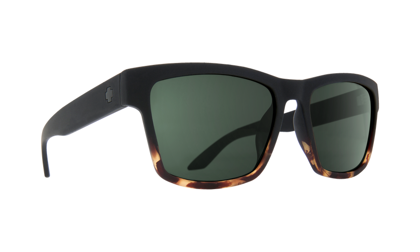Haight 2 Soft Matte Black Tort Fade - HD Plus Gray Green