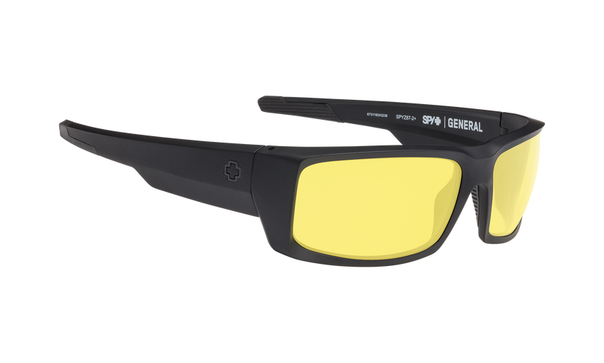General - Matte Black ANSI Rx/Yellow