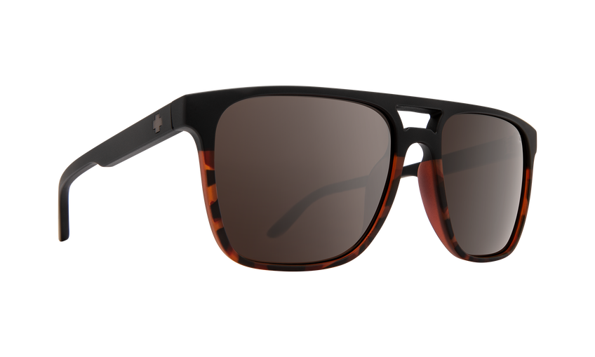 Czar Matte Black/Tort Fade-Happy Bronze Polar W/Black Spectra Mirror