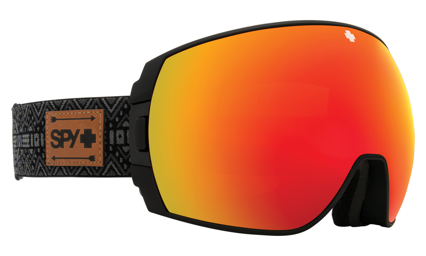 Legacy Snow Goggle - SPY + Eric Jackson/HD Plus Bronze with Red Spectra Mirror + HD Plus LL Yellow with Green Spectra Mirror