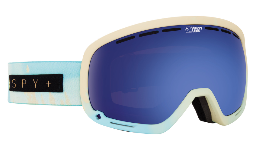 Marshall Snow Goggle - Aurora Light Blue/Happy Rose with Dark Blue Spectra + Happy Pink with Lucid Blue