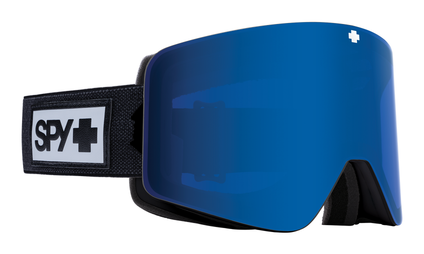 Marauder Snow Goggle - Matte Black/HD Plus Rose with Dark Blue Spectra Mirror + HD Plus LL Light Gray with Red Spectra Mirror