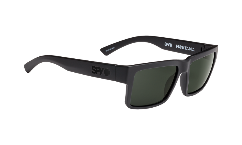 Montana - Soft Matte Black/HD Plus Gray Green Polar