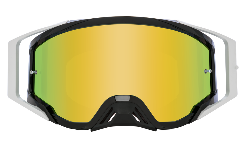 Foundation Mx Goggle - 25th Anniversary Black Gold/HD Bronze with Gold Spectra Mirror - HD Clear