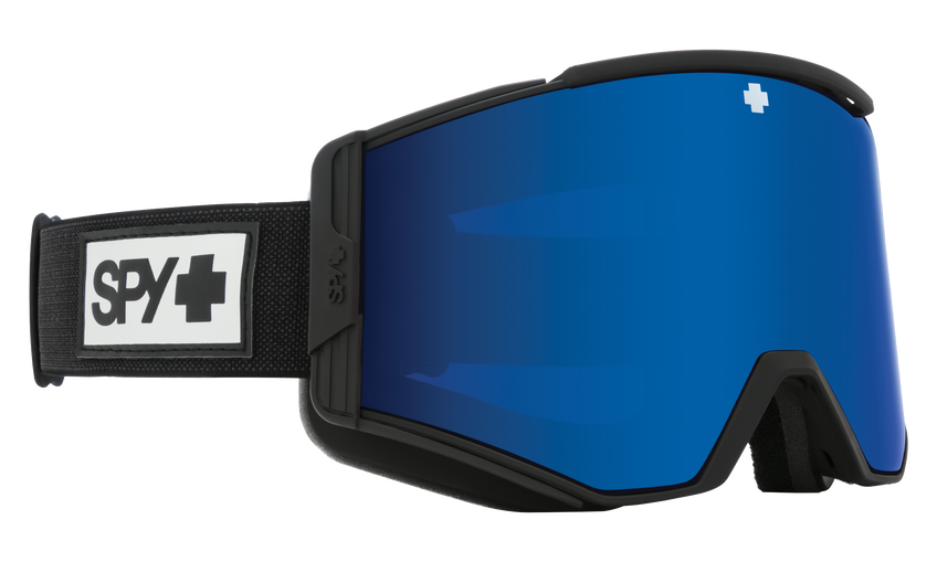Ace Snow Goggle - Matte Black/HD Plus Rose with Dark Blue Spectra Mirror + HD Plus LL Gray Green with Red Spectra Mirror
