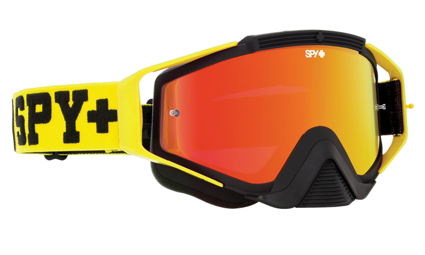 Omen Mx Goggle - Jersey Yellow/Smoke with Red Spectra + Clear AFP