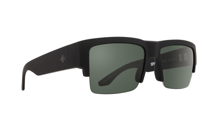 Cyrus 5050 Soft Matte Black - HD Plus Gray Green Polar