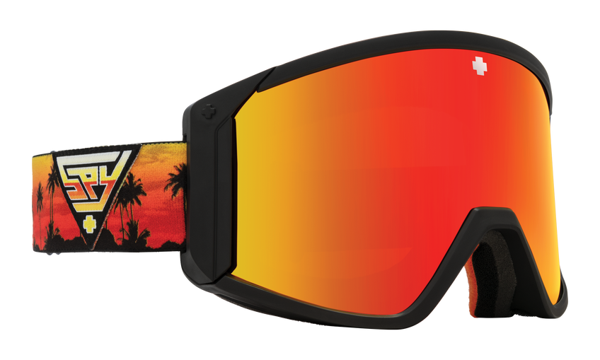 Raider Snow Goggle - SPY + Chris Rasman/HD Bronze with Red Spectra Mirror + HD LL Yellow