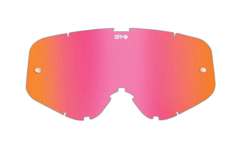 WOOT/WOOT RACE MX LENS - SMOKE W/ PINK SPECTRA AFP