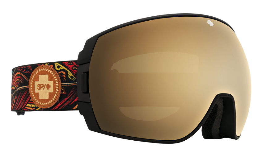 Legacy Snow Goggle - SPY + Wiley Miller/HD Plus Bronze with Gold Spectra Mirror + HD Plus LL Persimmon with Silver Spectra Mirror