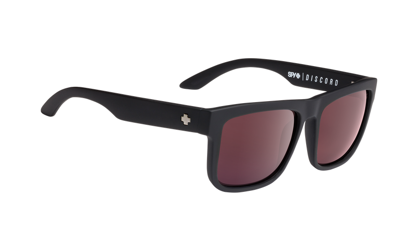 Discord - Matte Black/Happy Rose Polar with Light Silver Spectra