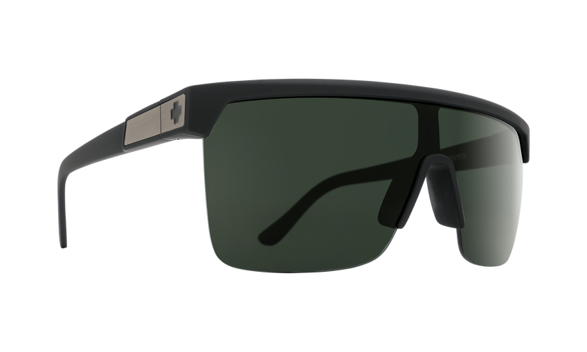 Flynn 5050 Soft Matte Black - HD Plus Gray Green