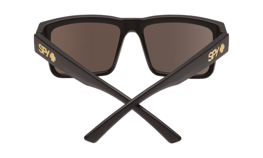 Montana Asian Fit - Soft Matte Black/Happy Bronze with Gold Mirror