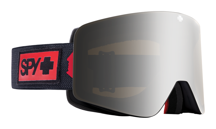 Marauder Snow Goggle - Nightrider Black/HD Plus Bronze with Silver Spectra Mirror + HD Clear