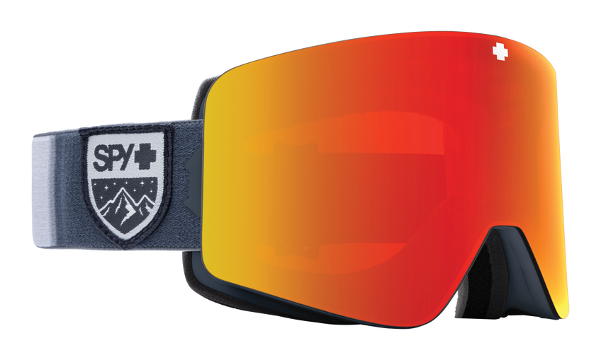 Marauder Snow Goggle - Colorblock Gray/HD Plus Bronze with Red Spectra Mirror + HD LL Yellow with Green Spectra Mirror