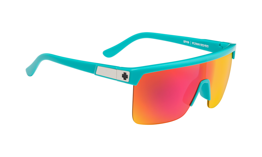 Flynn 5050 - Teal/HD Plus Gray Green with Pink Spectra Mirror