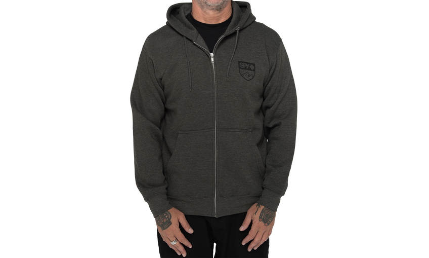 Alpine Badge Zip-Up Sweatshirt