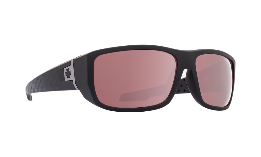 Mc3 Matte Black Logo Fade-HD Plus Rose Polar with Silver Spectra Mirror