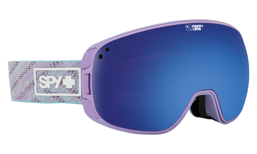 Bravo Snow Goggle - Knit Lavender/Happy Rose with Dark Blue Spectra + Happy Pink with Lucid Blue