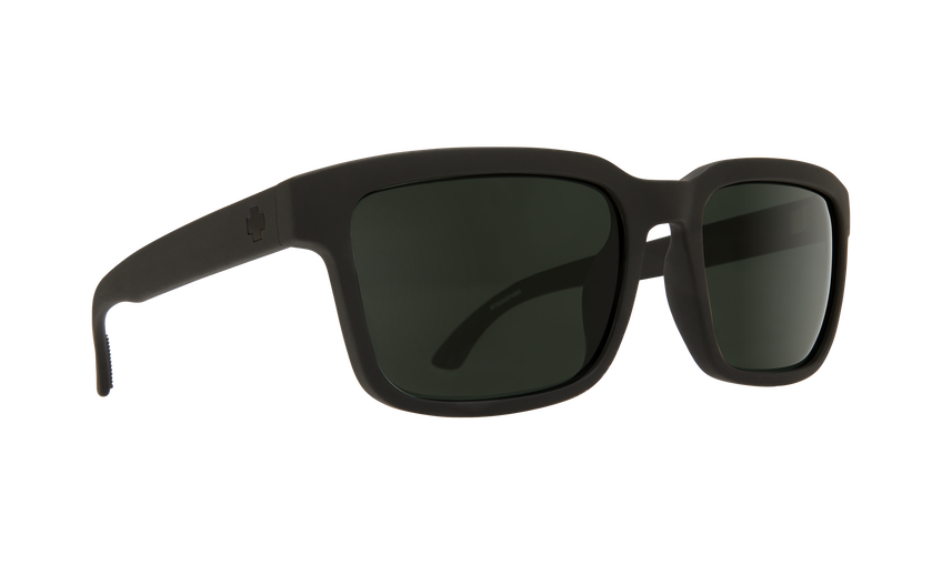 Helm 2 SOSI Matte Black - HD Plus Gray Green