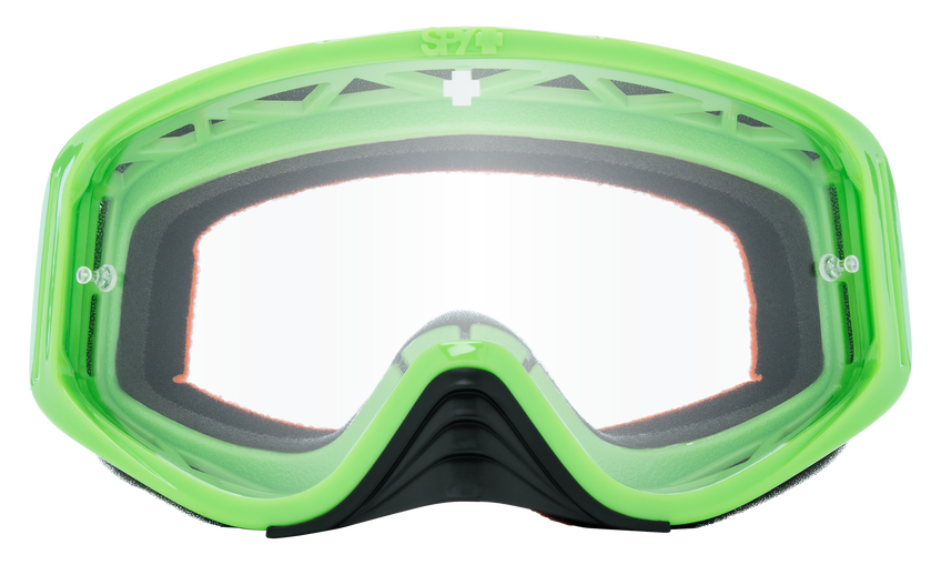 Woot Mx Goggle - Checkers Green/HD Clear
