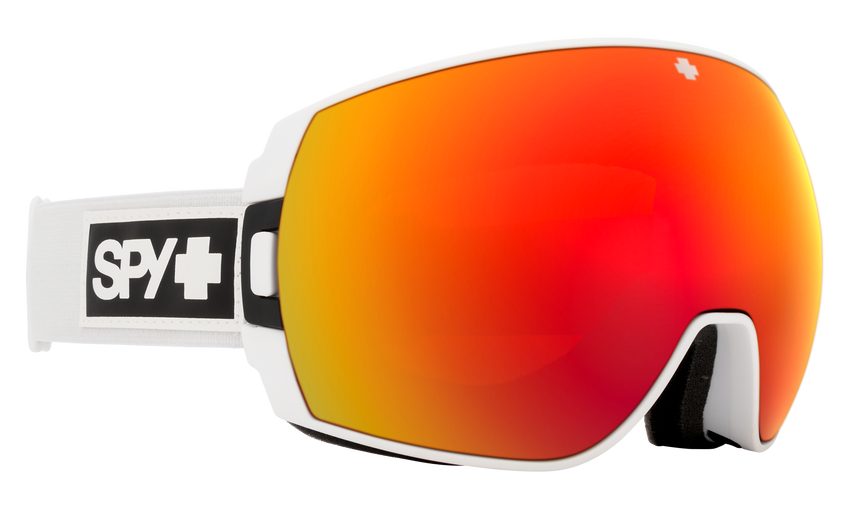 Legacy SE Snow Goggle - Matte White/HD Plus Bronze with Red Spectra Mirror + HD Plus LL Yellow with Green Spectra Mirror