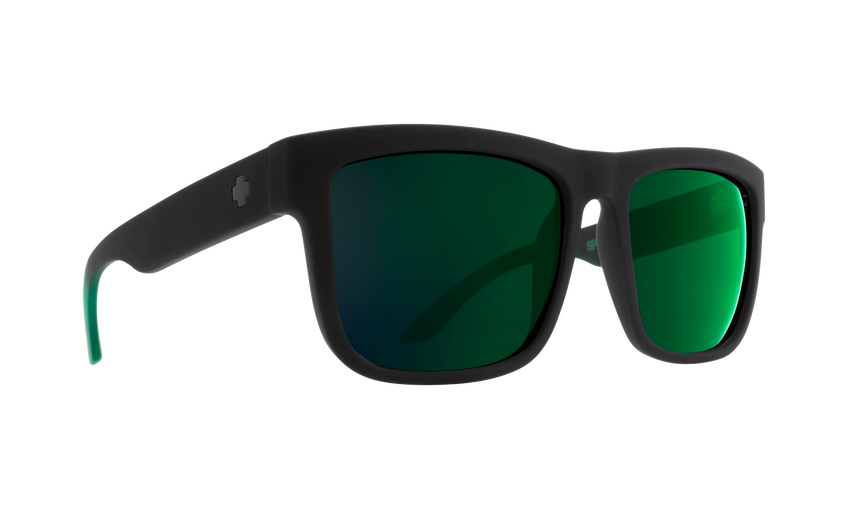 DISCORD SOFT MATTE BLACK/GREEN FADE - HAPPY GRAY GREEN W/GREEN FLASH
