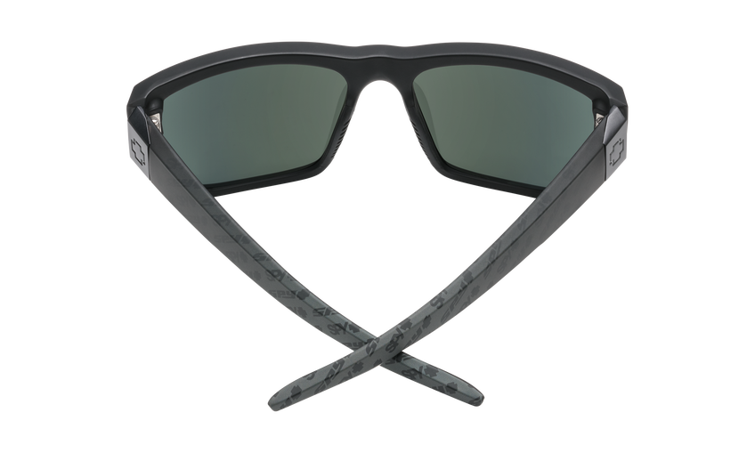 Dirty Mo 2 - Matte Black Logo Fade/HD Plus Gray Green with Silver Spectra Mirror