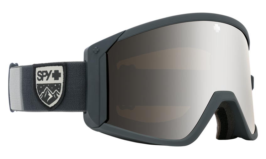 Raider Colorblock Gray - HD Bronze w/ Silver Spectra Mirror + HD LL Persimmon